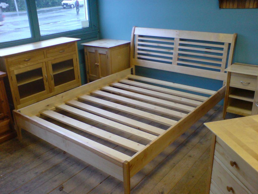 9. Birch bed