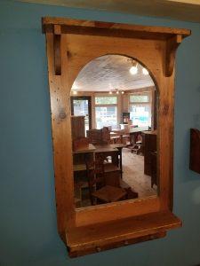 Custom Solid Wood Mirror